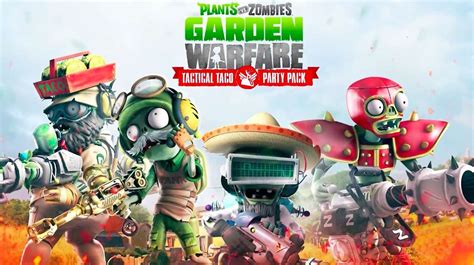 Bd Ps4 Plants Vs Zombies New Reg 3 plants vs zombies garden warfare tactical taco pack trailer gamespot