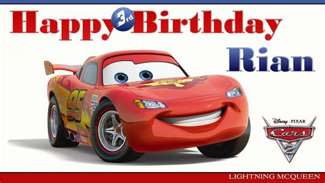 printable birthday cards cars free printable disney pixar cars birthday cards