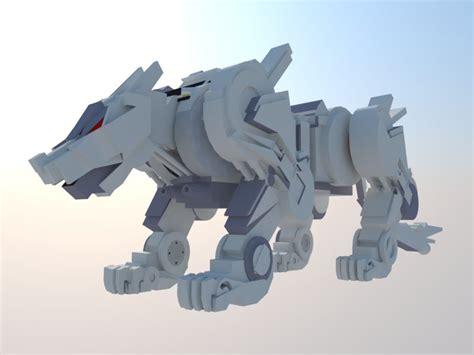 Umakuka 3d Robot Tiger 3d tiger mecha model