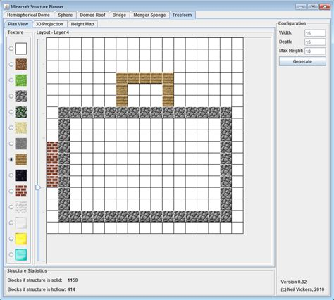 minecraft floor plan maker minecraft structure planner application minecraft tools