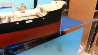 rc ship ss melanie ii anchor winch test youtube - Boat Winch Test