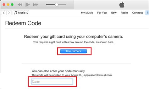 How To Scan Gift Cards - how to redeem itunes gift card on iphone ipad and pc