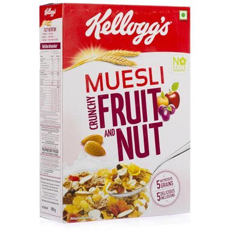 Free Lo Muesli Cereal 500g buy kelloggs muesli crunchy fruit nut corn flakes 500 gm