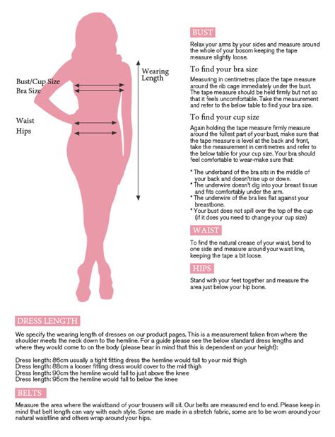 lipsy size guides