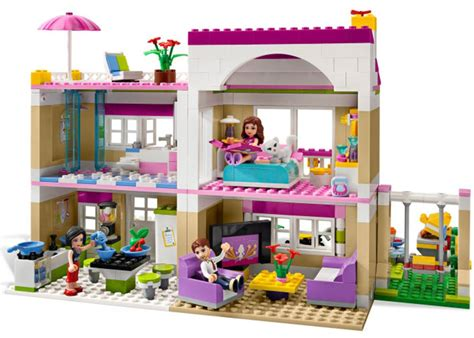 lego house heartlake lego friends shopping mall