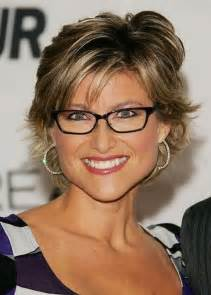 stylish haircuts for fifty year ild with thin haur short hairstyles for older women with glasses