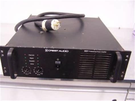 Power Lifier Pl 9001 Crest Audio Pro 9001 Image 168608 Audiofanzine