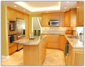 Backsplash Kitchen Design natural walnut kitchen cabinets home design ideas