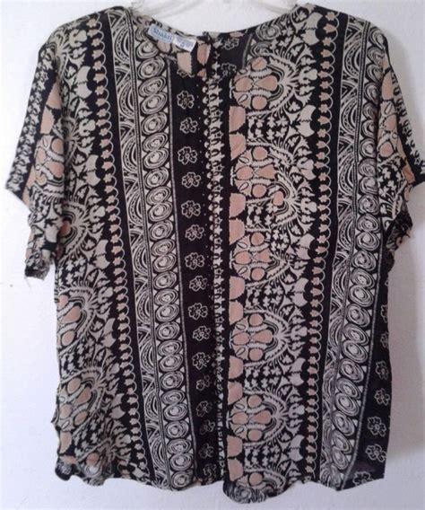Promo Batik Sarimbit Batik Blouse Ratri rayon batik blouse blouse with