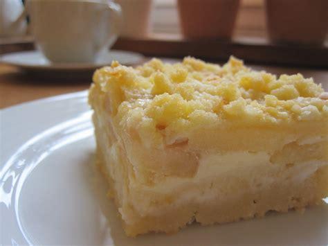 kuchen mit apfelmus und pudding apfel streuselkuchen