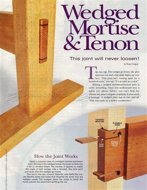 mortise woodworking 25 best ideas about mortise and tenon on wood