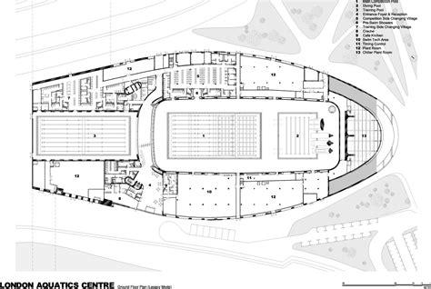National Gallery Of Art Floor Plan london 2012 aquatics centre by zaha hadid buildipedia