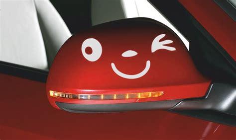 Spiegel Aufkleber Werbung by Aufkleber Spiegel Und Car Happy
