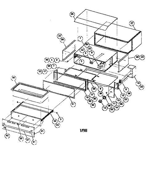 viking range parts diagram viking range corp warming drawer parts model vewd161