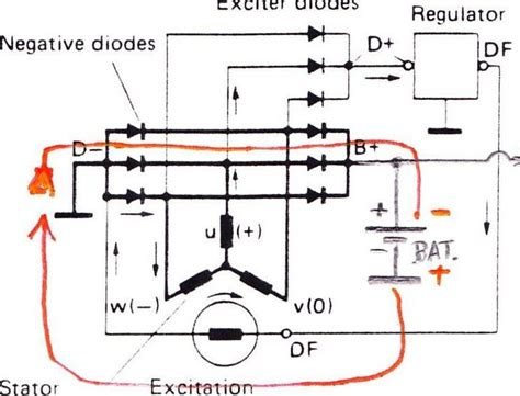 lucas voltage regulator wiring diagram 28 images 8