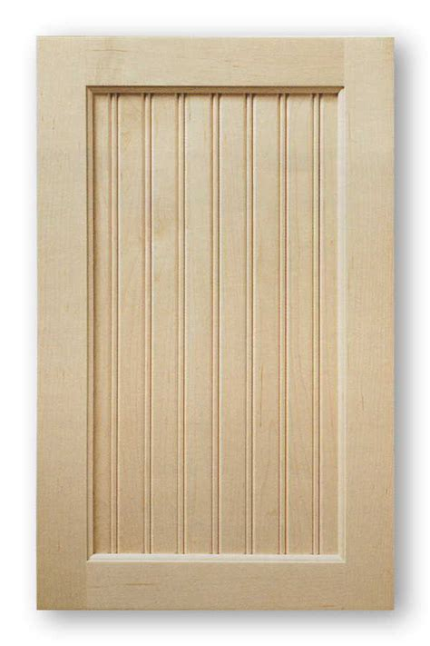 Unfinished Beadboard Paneling - inset panel cabinet doors acmecabinetdoors com