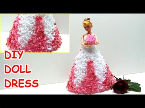 How To Make A Paper Doll Dress - how to make a princess prom doll dress diy from tissue