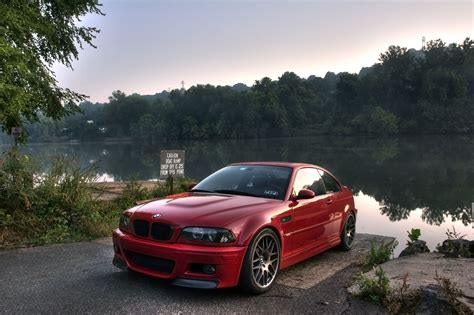 red bmw e46 photoshoot bmw m3 e46