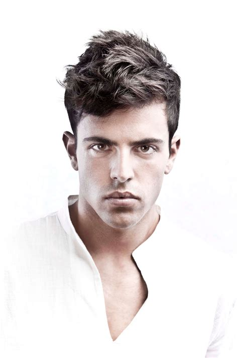 mens hairstyles with point in back 5 easy on point medium hairstyles for men