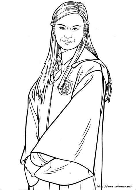 harry potter coloring pages ginny weasley free coloring pages of go harry potter