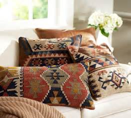 Pottery Barn Dining Room Set by Shelton Kilim Pillow Cover Pottery Barn