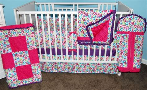 baby girl crib bedding clearance clearance price new precious heart print nursery baby