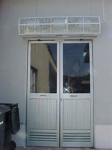 outdoor air curtain sanitation high performance 7 berner