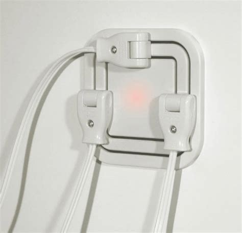 cool wall receptacle node power outlet allows users to plug in at every angle