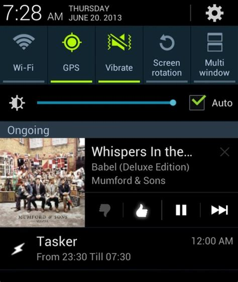spotify app android spotify android app update brings notifications controls at last