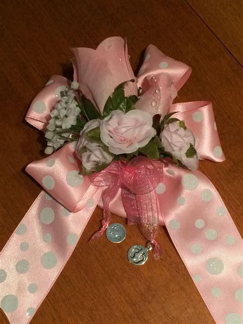 diy baby shower corsage baby shower corsage crafts