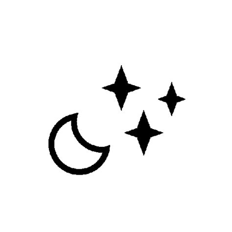 moon tattoo png moon star icon download free icons