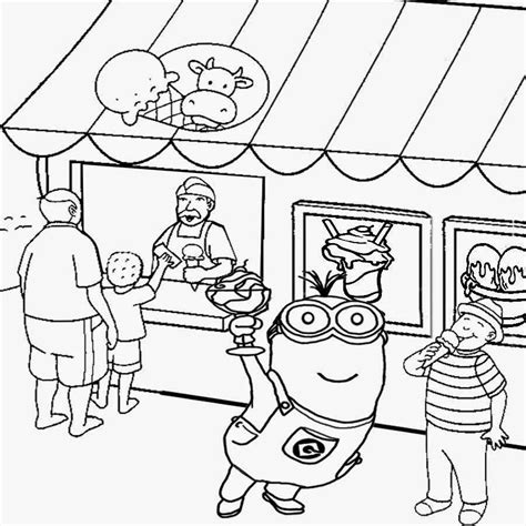 ice cream store coloring page free coloring pages printable pictures to color kids