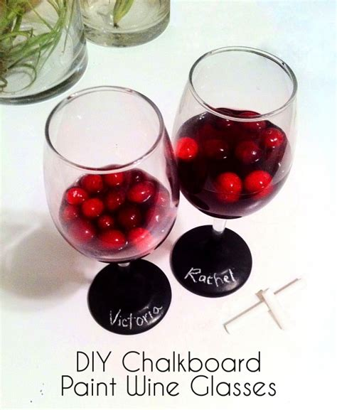 diy chalk paint glasses 17 best images about wine glasses on painted