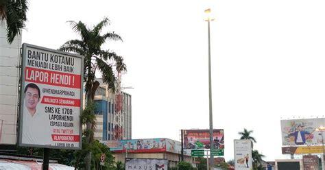 Lu Hid Di Semarang lewat lapor hendi walikota semarang mengajak masyarakat bantu kota