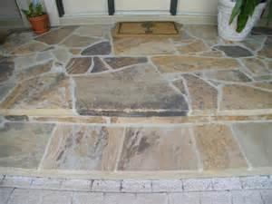 Concrete Slabs For Backyard Steven Goff Masonry Flagstone Central Pa S Premier