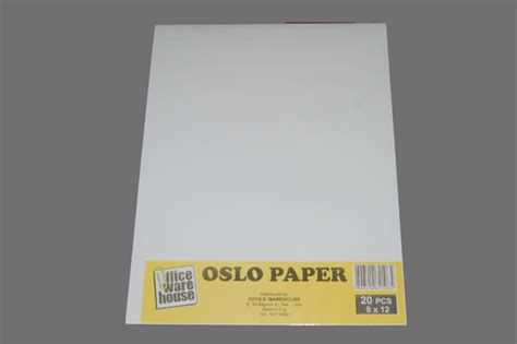 What Is Paper - office warehouse oslo paper white 9 x 12 20 pack office