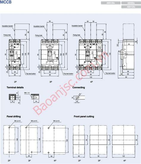 Mccb Abn 403c Ls mccb ls abs 4p series