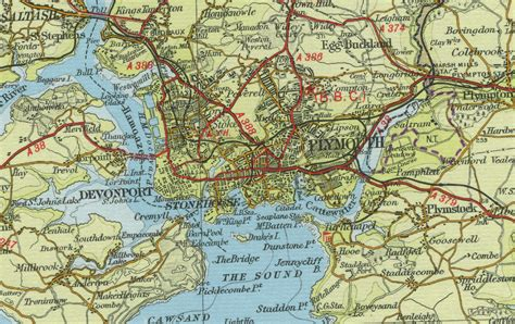 map of plymouth image gallery plymouth map