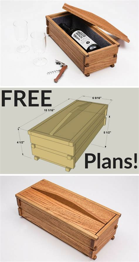 diy wine box   great gift  project plan
