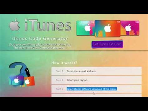 How To Get Itunes Gift Card Code Free - how to get free itunes gift card codes without paying 2017 youtube