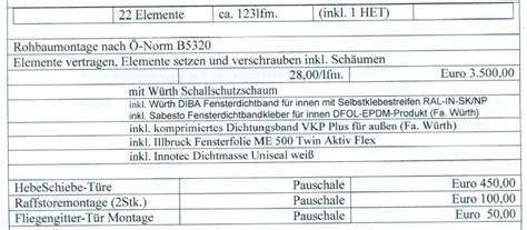 eingangstüren internorm preise montagekosten fenster kf410 internorm fensterforum auf