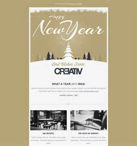 new year newsletter template more of the best newsletter templates