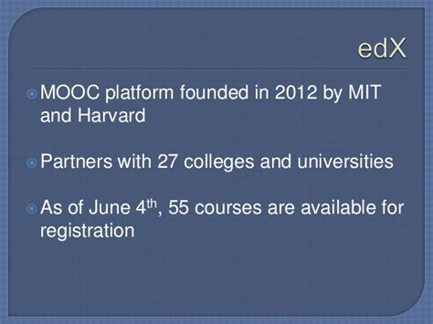 Mooc Harvard Mba by Library 2 013 Moocs And Constructivist Learning