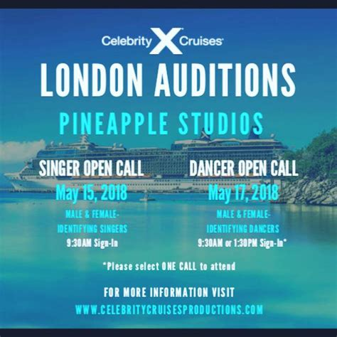 celebrity singers auditions pineapple blog