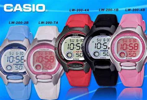 Jam Tangan Wanita Casio Lw 200 2avdf Original Murah 4 jual jam tangan wanita casio lw 200 modern store