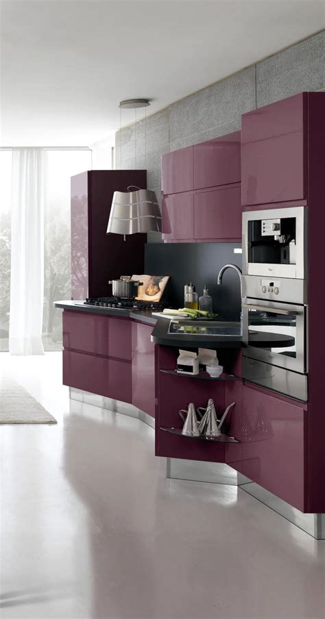 New Design Of Modern Kitchen with New Modern Kitchen Design With White Cabinets Bring From Stosa Digsdigs
