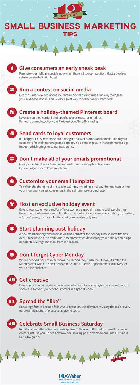 small business holiday marketing tips aweber