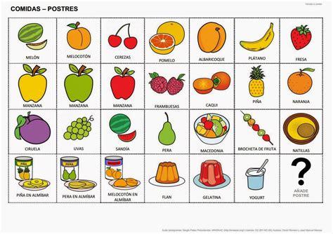 pictogramas alimentos inform 225 tica para educaci 243 n especial quot vamos a comer
