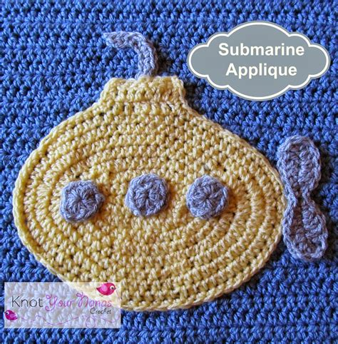 patterns for applique knot your nana s crochet boys will be boys