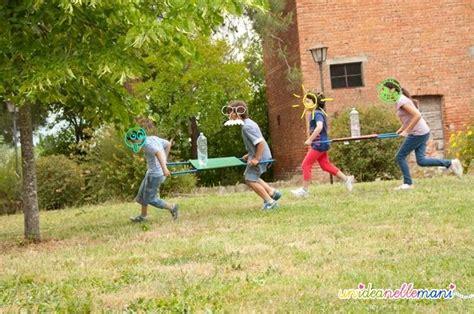 giochi da cortile per bambini gioco a squadre da fare all aperto la gara dei barellini